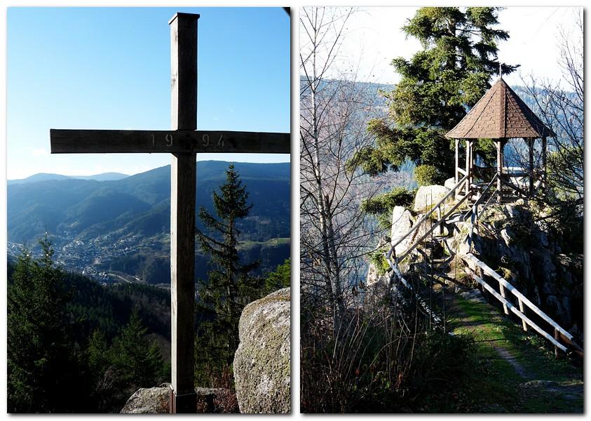 33_Das_Gipfelkreuz_und_der_Pavillon_aif_dem_Latschigfelsen