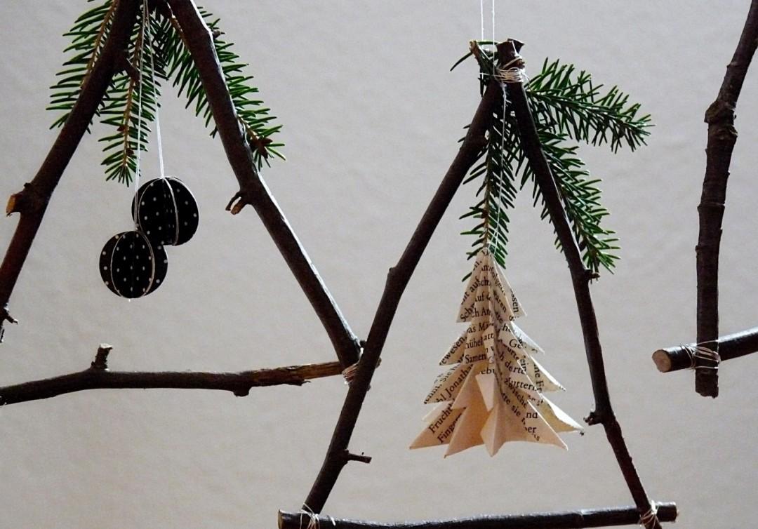 Weihnachtsbastelei Aus Zweigen My Morningsun