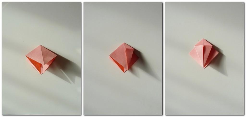 Bastelanleitung Kranich Origami 2