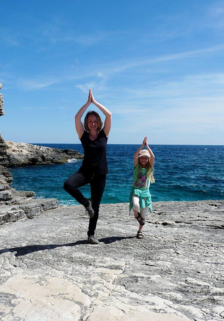 Yoga am Kap Kamenjak