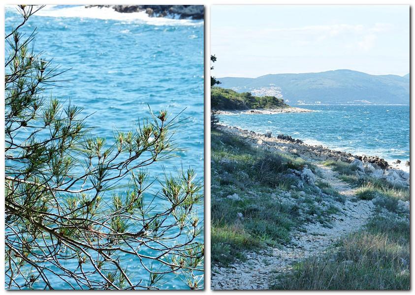 2_unser täglicher kleiner Wanderweg zum Strand mit Blick auf das Wasser