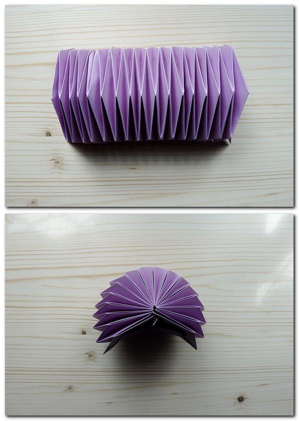 Anleitung für den Origamiball Teil 3