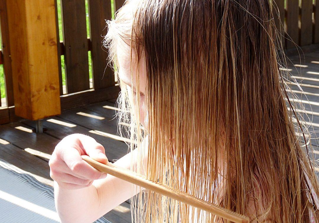 Kokosöl ist toll für die Haare