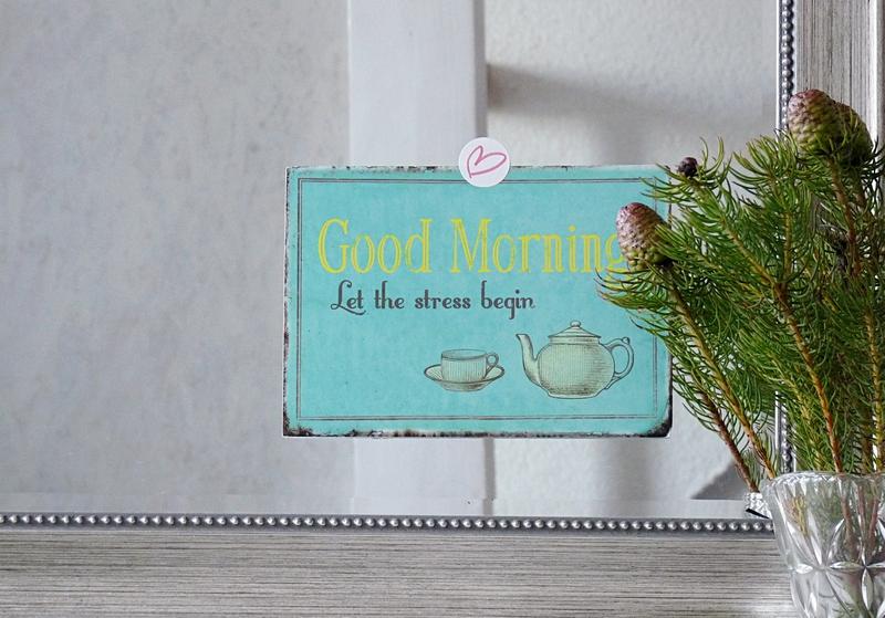 Good morning - let the stress begin - arbeit besser organisieren