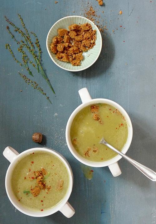 Rezept Suppe mit Sauerampfer