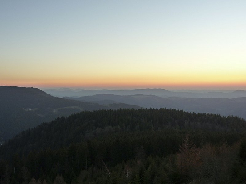 2_Sonnenuntergang Mummelsee im Schwarzwald_1
