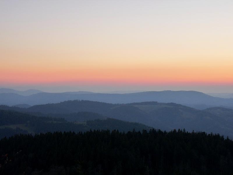 Beitragsbild_Mummelsee im Schwarzwald Sundown