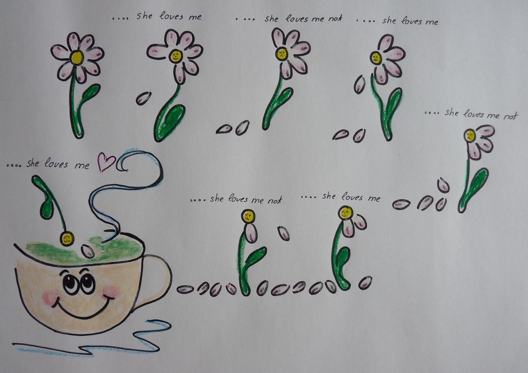 Gänseblümchen liebt Suppe
