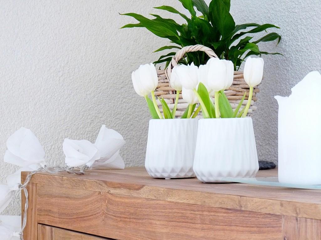 Tulpen aus Krepppapier