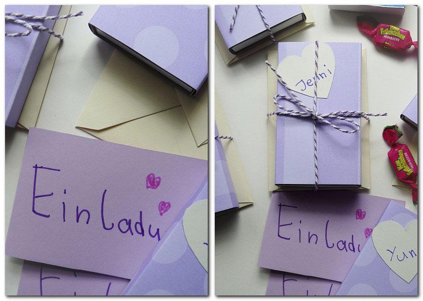 Einladungen zum Kindergeburtstag DIY