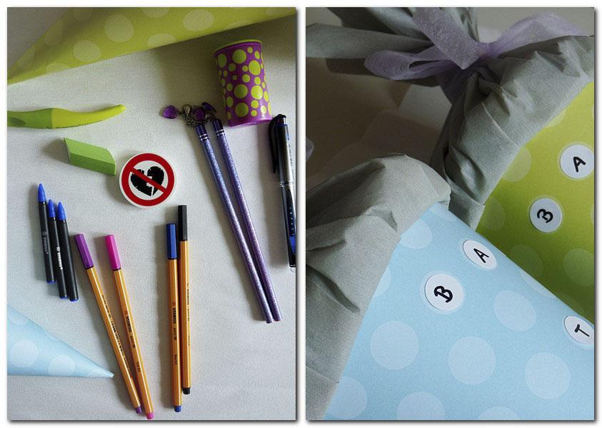 Geschenke zum Schulanfang