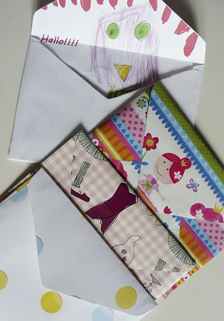 Briefumschläge selber machen