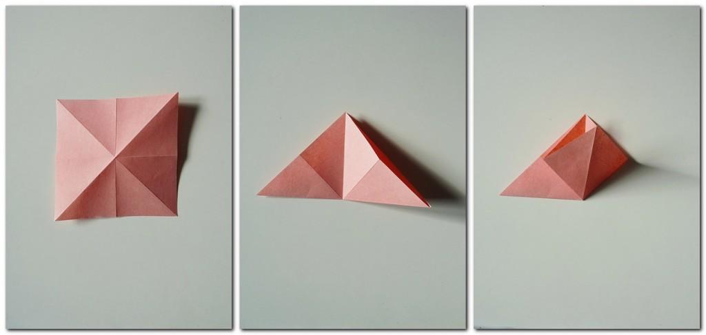 Bastelanleitung Kranich Origami 1