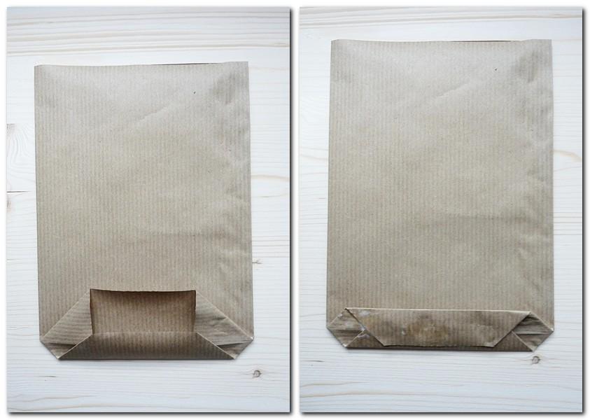 3. Schritt So faltet man eine Papiertüte
