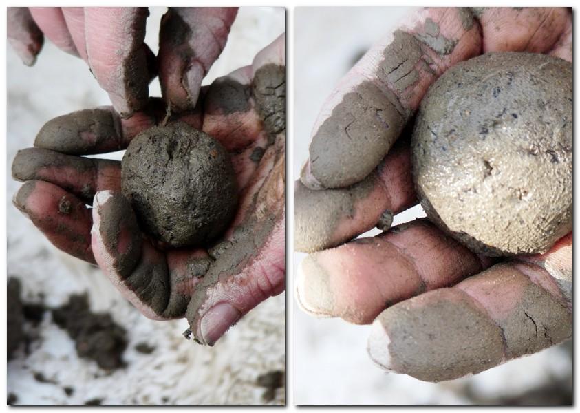 Schritt 2 Seedbombs _Kugeln für die Samenbomben formen