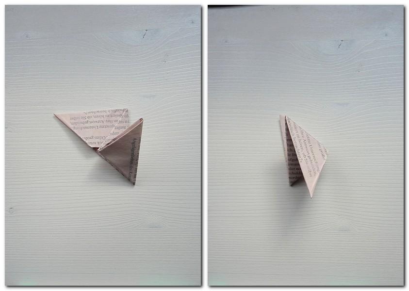 13 Pyramide falten