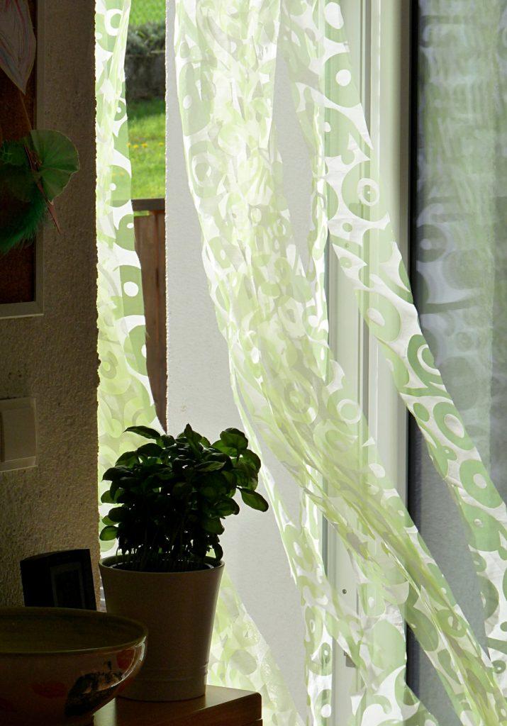 Vorhang von innen