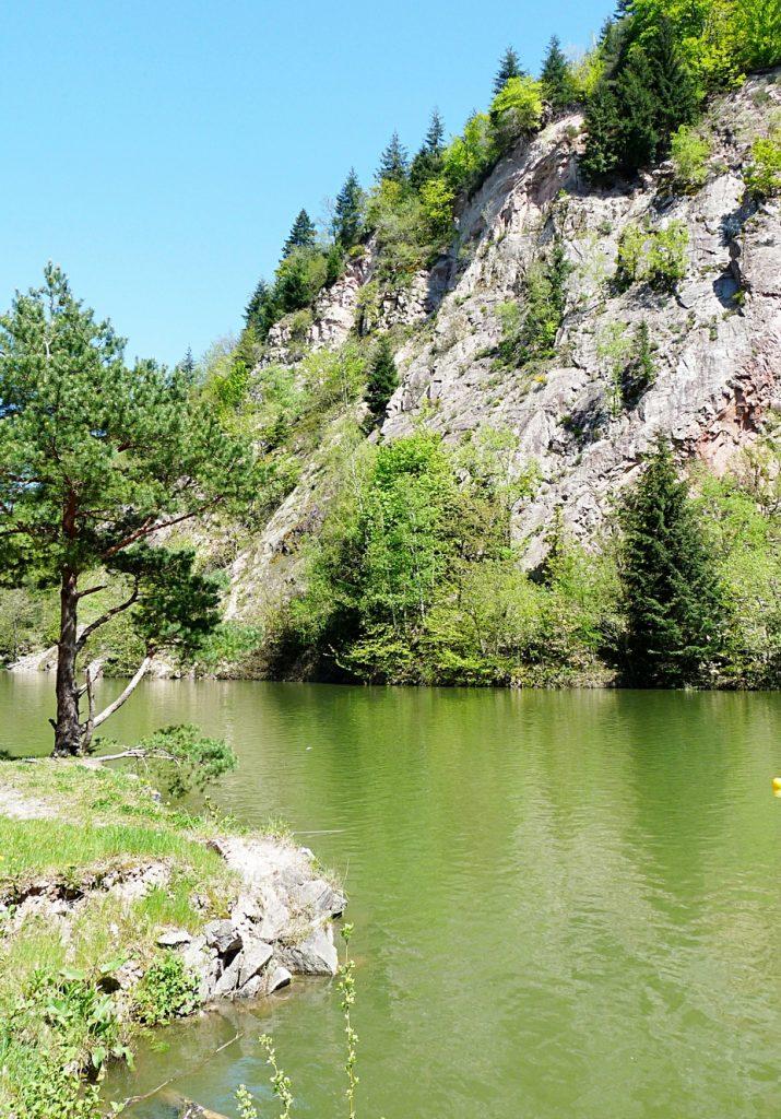 8_Der wunderschöne Steinbruchsee am Waldeneck