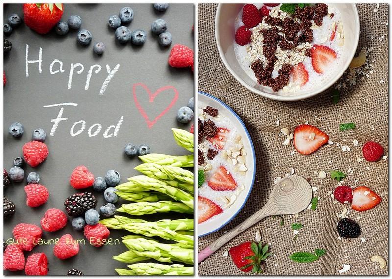 Was ist Happy Food und Smoothiebowl - Glück zum Essen