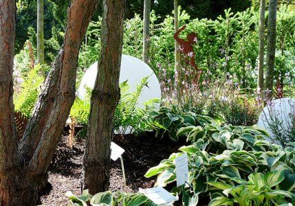 Ein schöner Schaugarten bei der kleinen Gartenschau in Bad Herrenalb