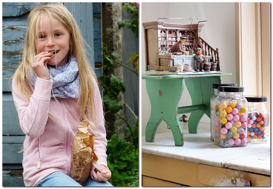 hübsch ist es in omas Snoepwinkel in Veere Zeeland