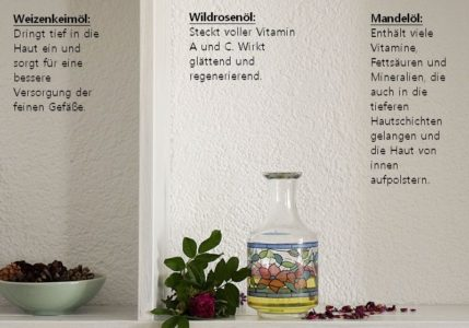 Massageöl mit Wildrose
