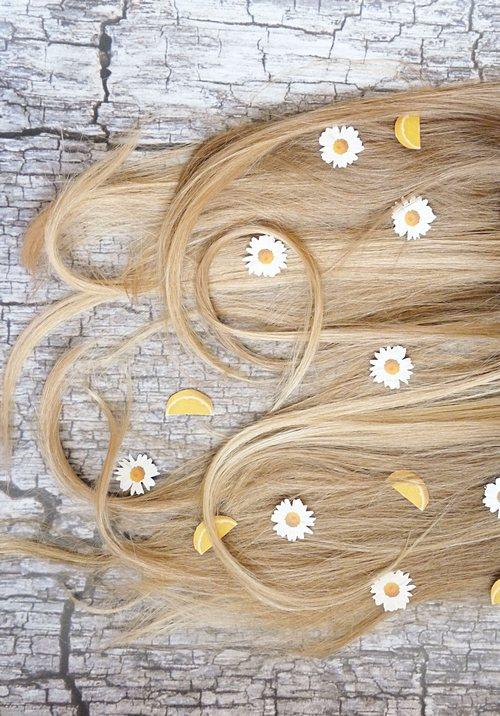 Kamillenspülung diy für blonde haare